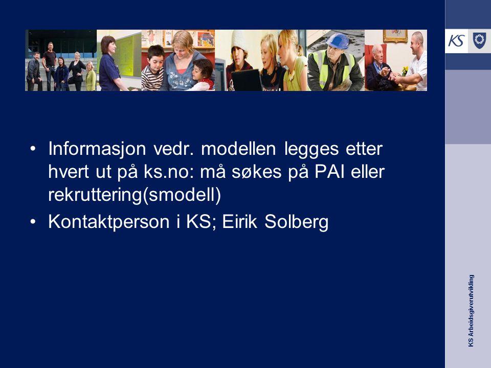 Informasjon om modellen
