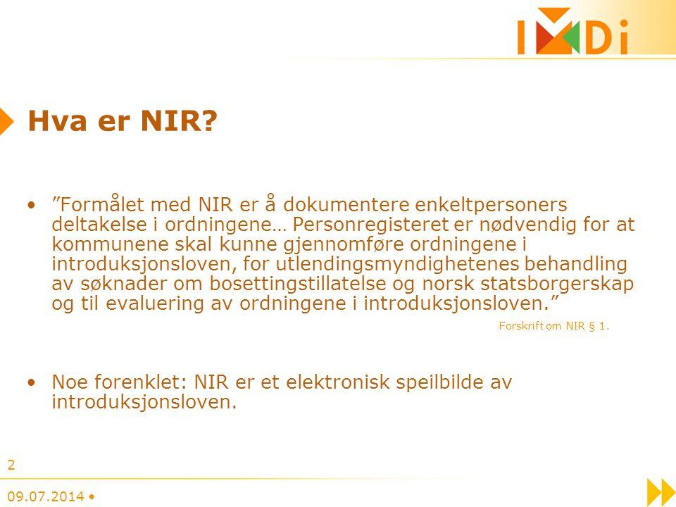 Hva er NIR