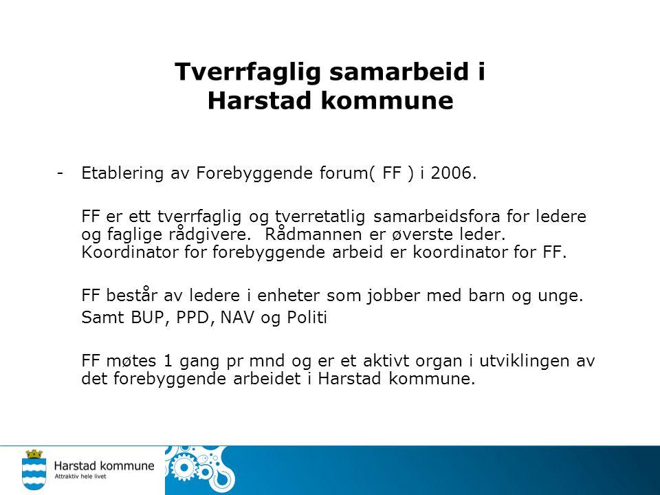 Tverrfaglig samarbeid i Harstad kommune