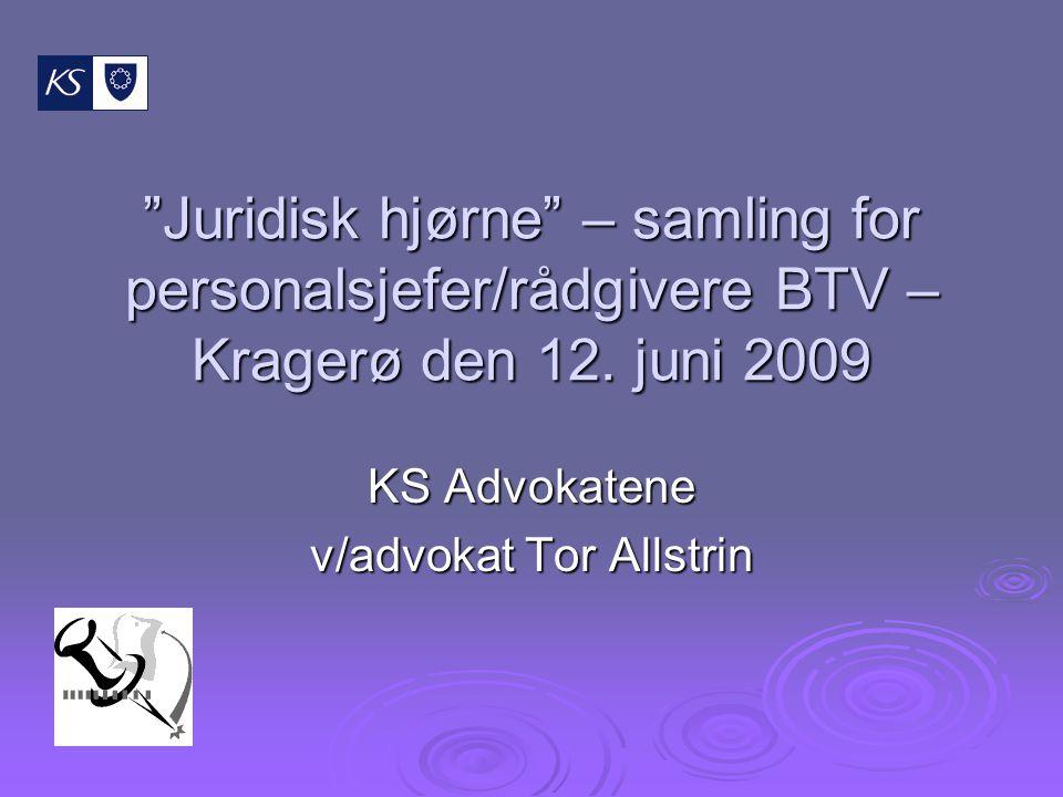 KS Advokatene v/advokat Tor Allstrin