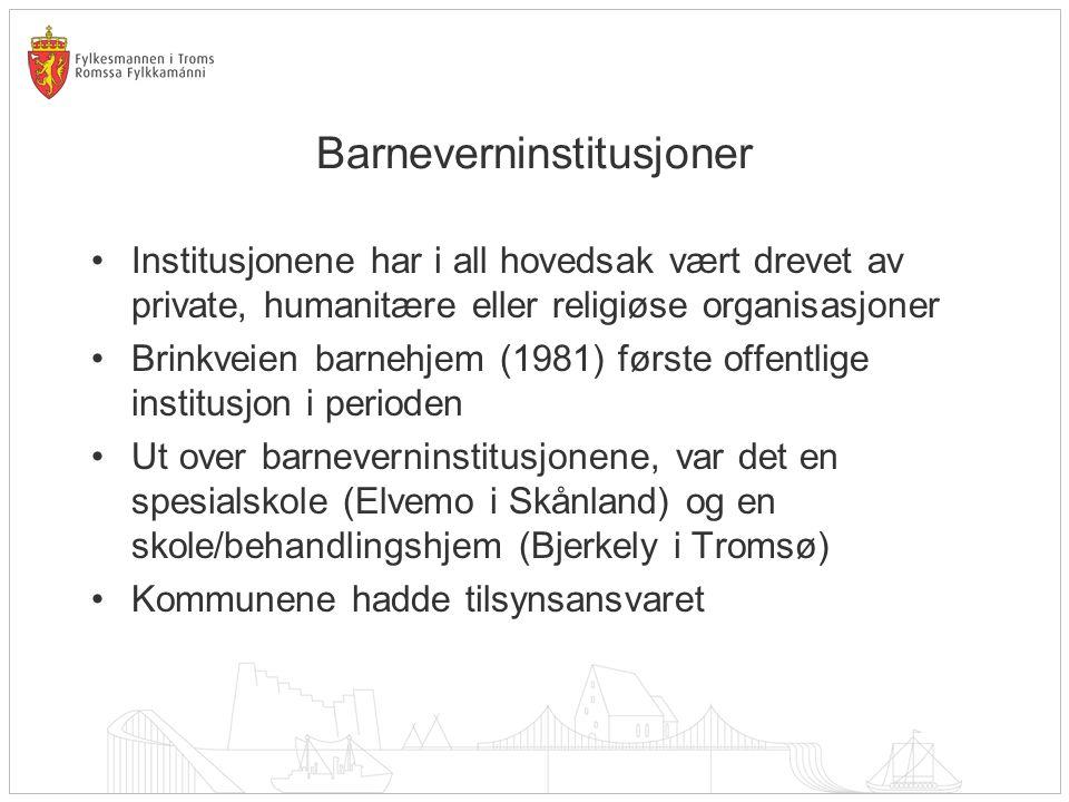 Barneverninstitusjoner