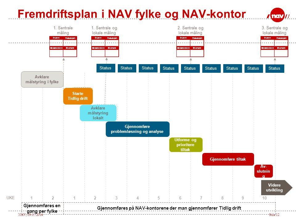 Fremdriftsplan i NAV fylke og NAV-kontor