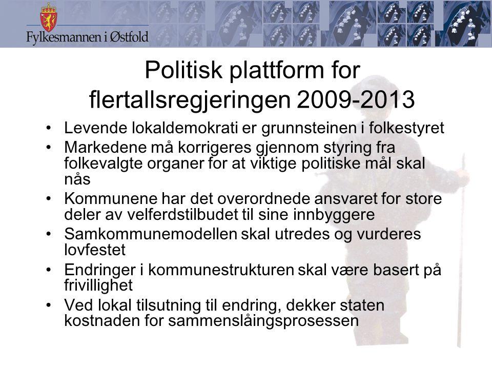 Politisk plattform for flertallsregjeringen 2009-2013