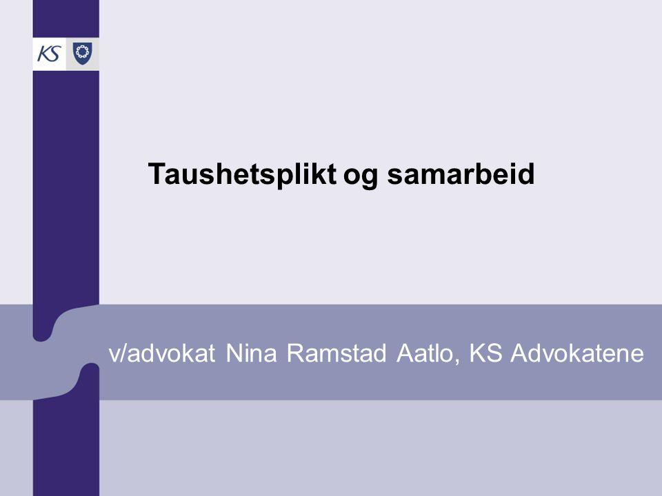 v/advokat Nina Ramstad Aatlo, KS Advokatene