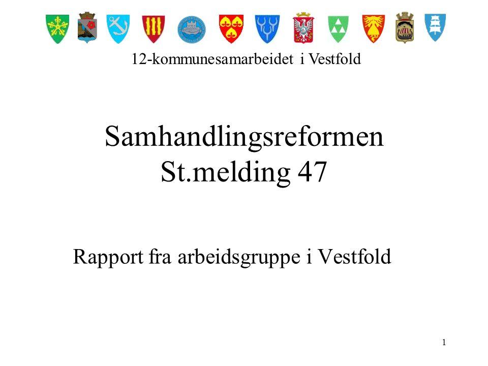 Samhandlingsreformen St.melding 47