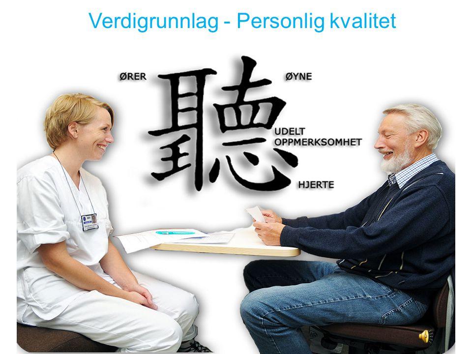 Verdigrunnlag - Personlig kvalitet
