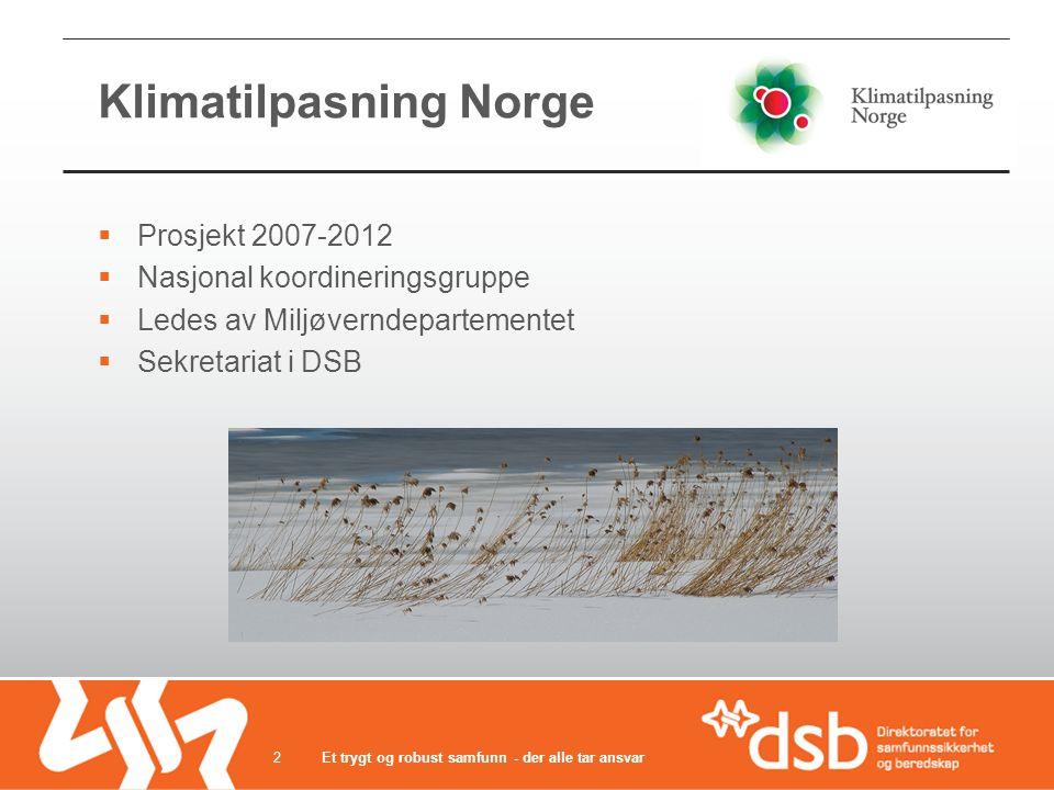 Klimatilpasning Norge