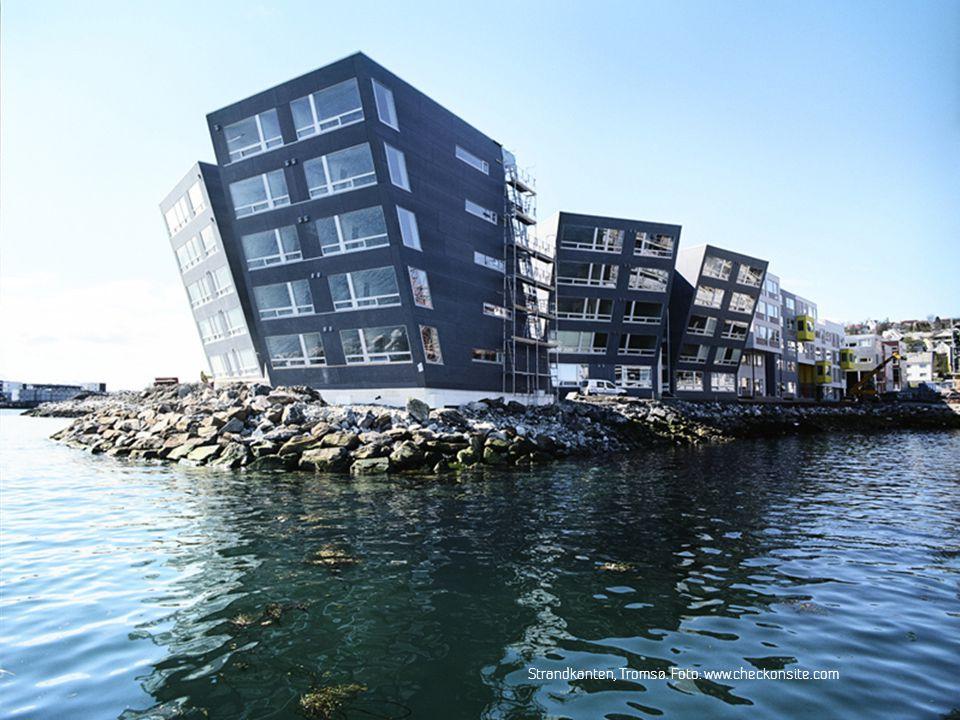 Strandkanten, Tromsø. Foto: www.checkonsite.com