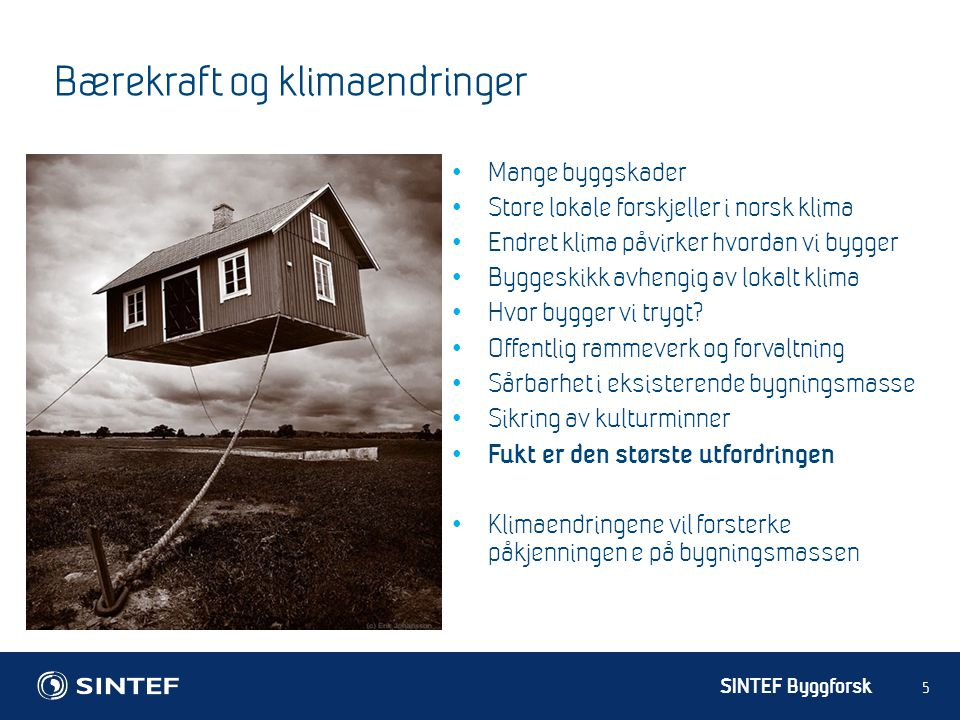 Bærekraft og klimaendringer