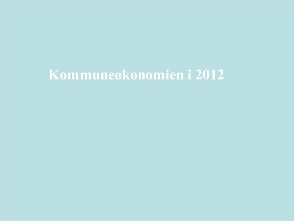 Kommuneøkonomien i 2012