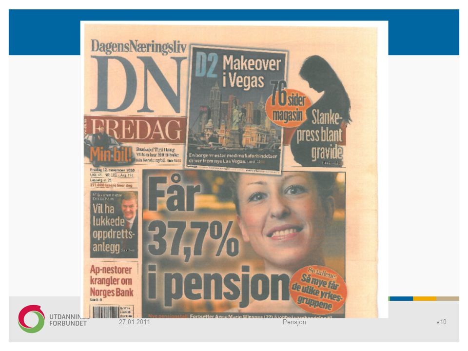 27.01.2011 Pensjon