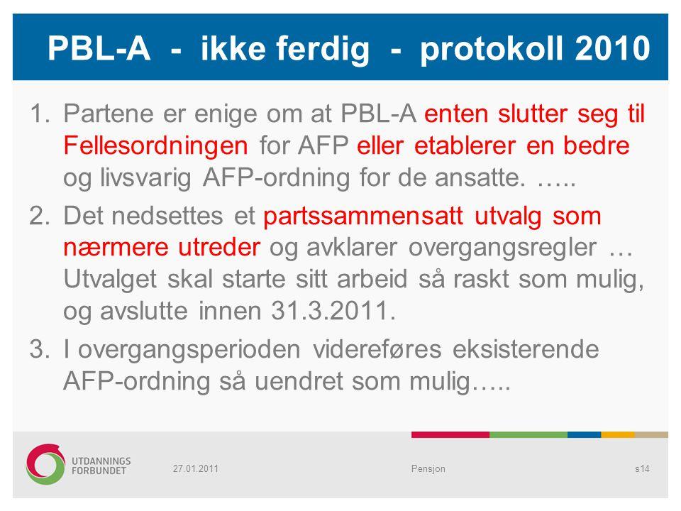 PBL-A - ikke ferdig - protokoll 2010