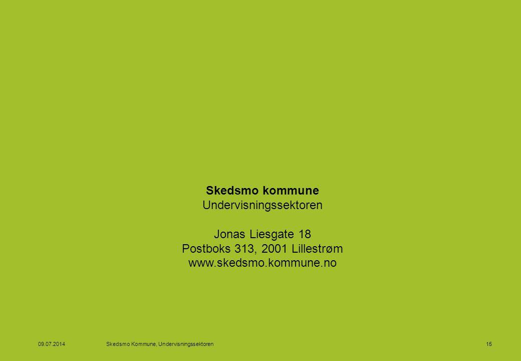 04.04.2017 Skedsmo Kommune, Undervisningssektoren