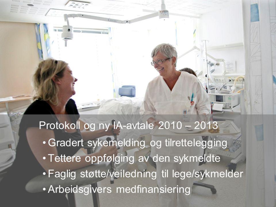 Protokoll og ny IA-avtale 2010 – 2013