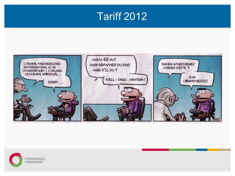 Tariff 2012