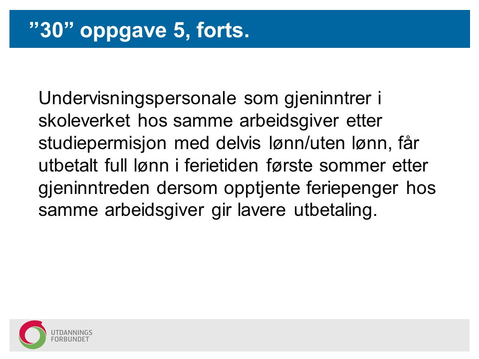 30 oppgave 5, forts.