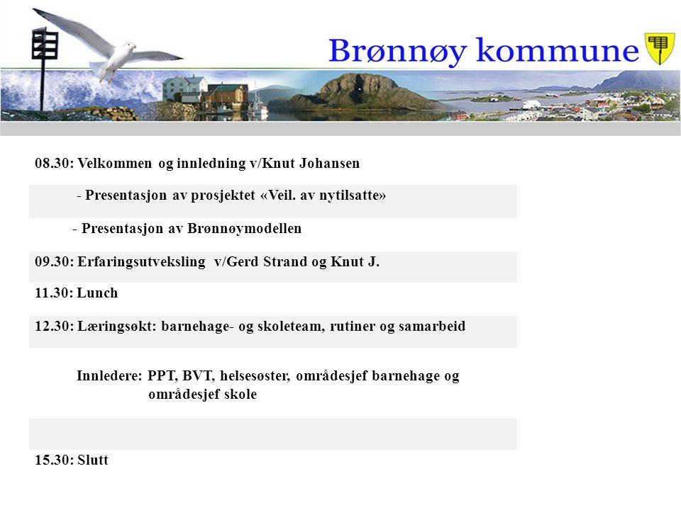 08.30: Velkommen og innledning v/Knut Johansen