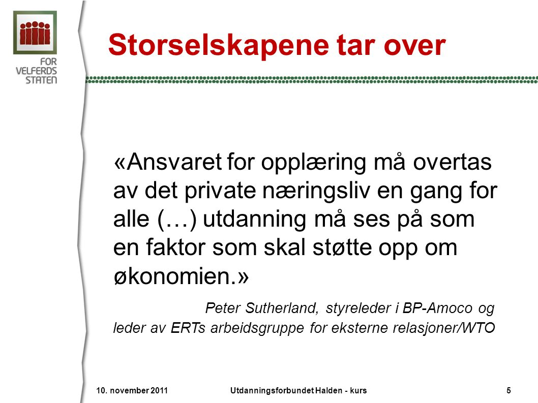 Storselskapene tar over