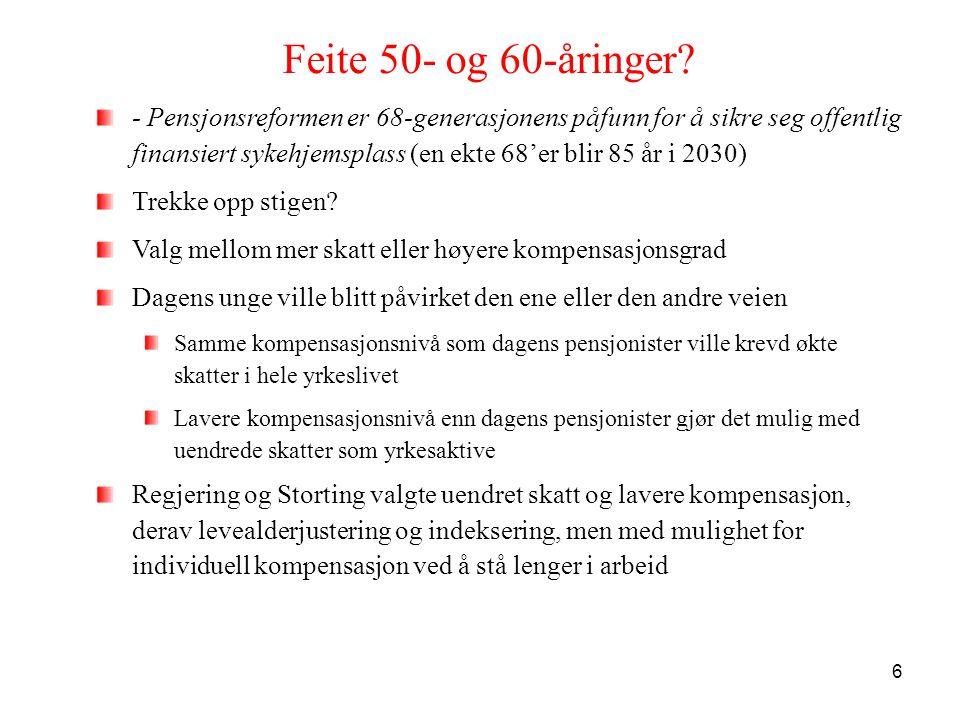 Feite 50- og 60-åringer