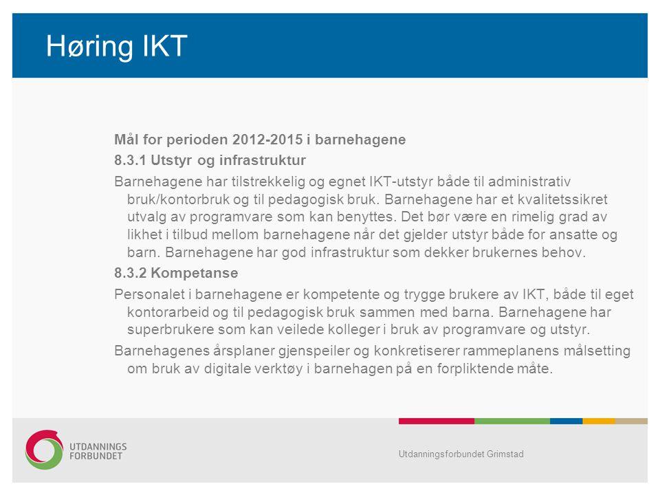 Høring IKT