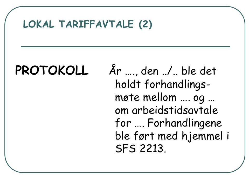 LOKAL TARIFFAVTALE (2)