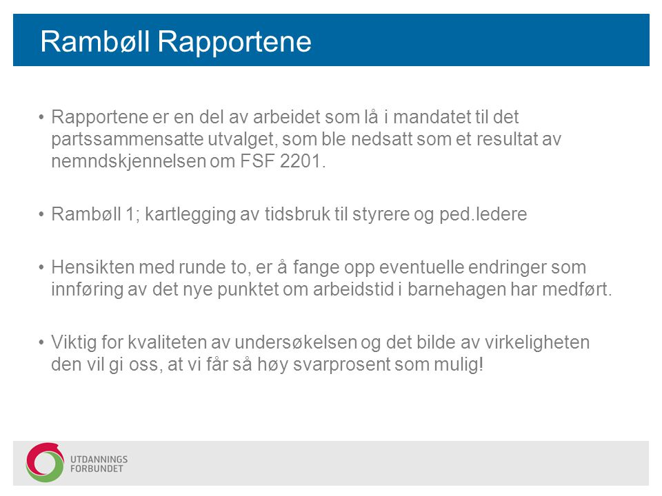 Rambøll Rapportene