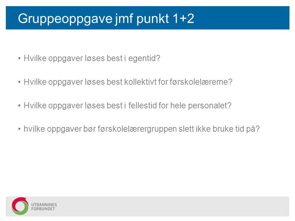 Gruppeoppgave jmf punkt 1+2
