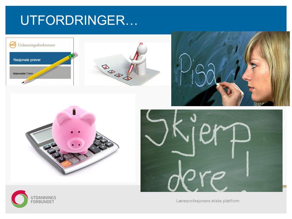 UTFORDRINGER… Kartlegginger, pisaundersøkelser, sparegrisen og kalkulatoren (symbol for rådmannen ).