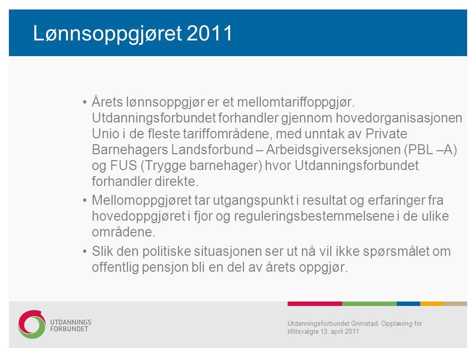 Lønnsoppgjøret 2011