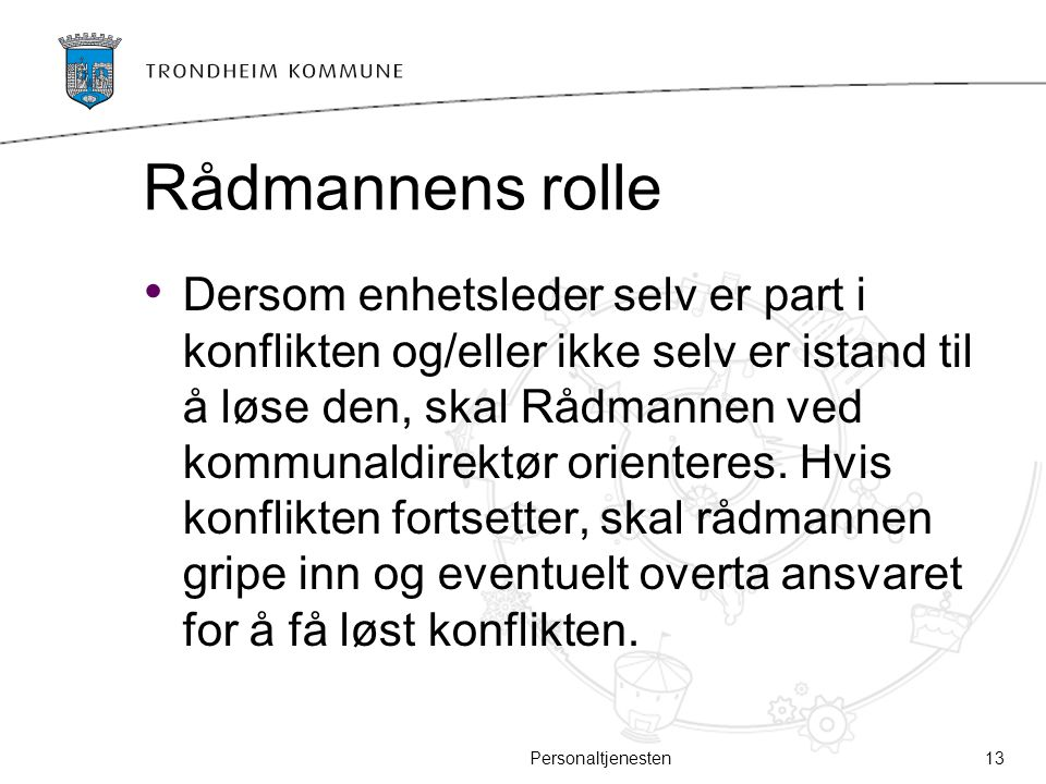 Rådmannens rolle