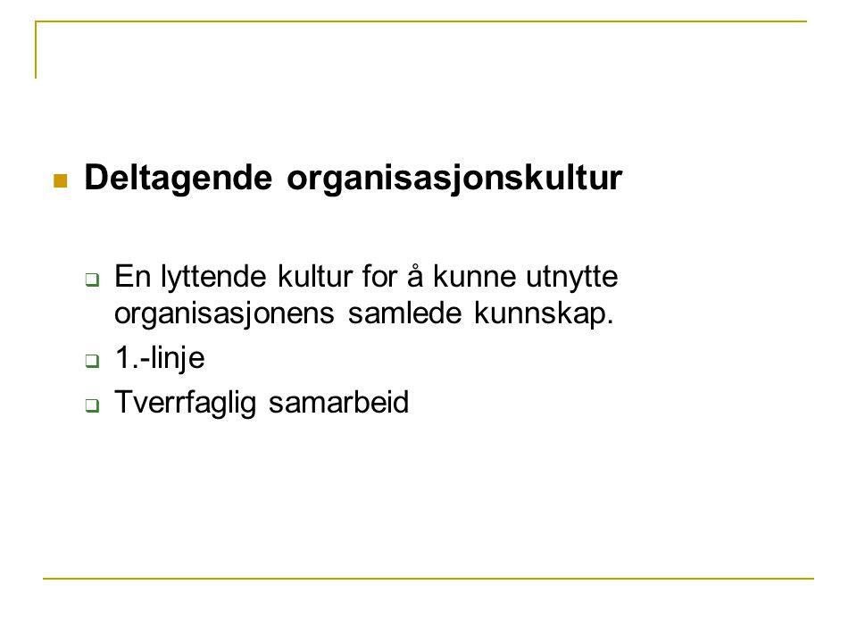 Deltagende organisasjonskultur