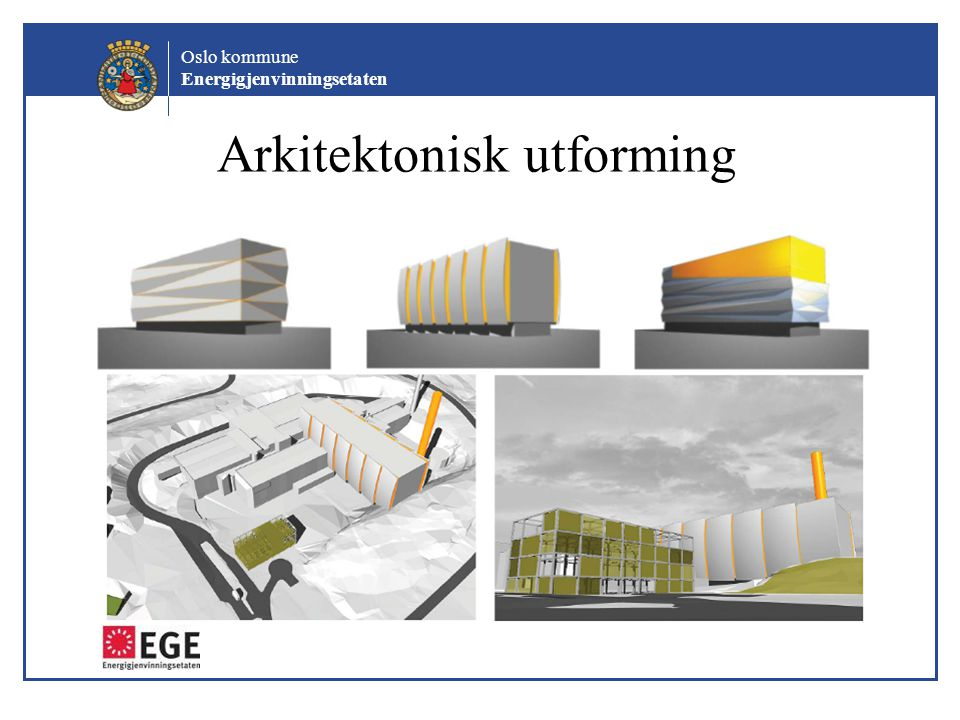 Arkitektonisk utforming