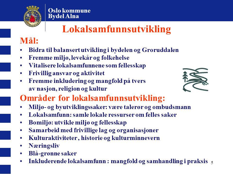 Lokalsamfunnsutvikling