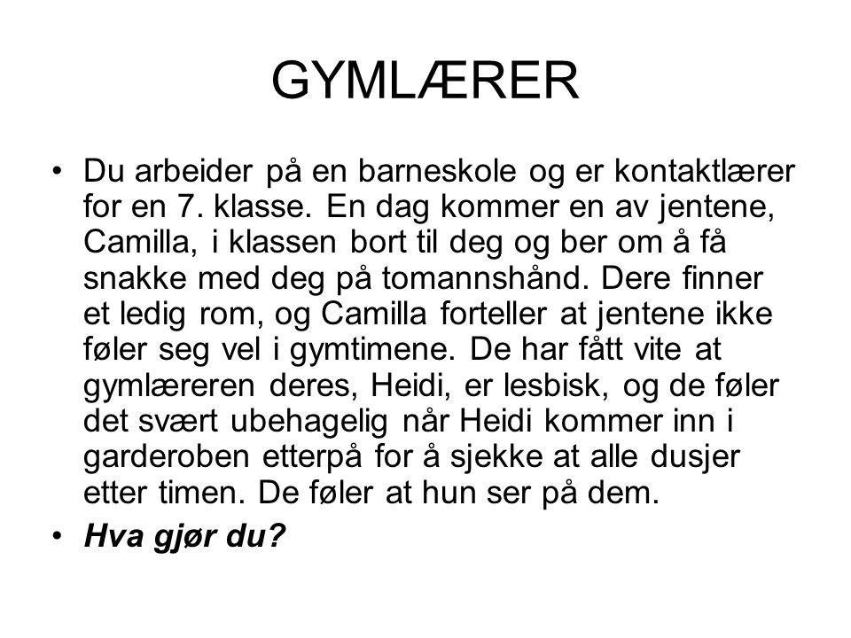 GYMLÆRER