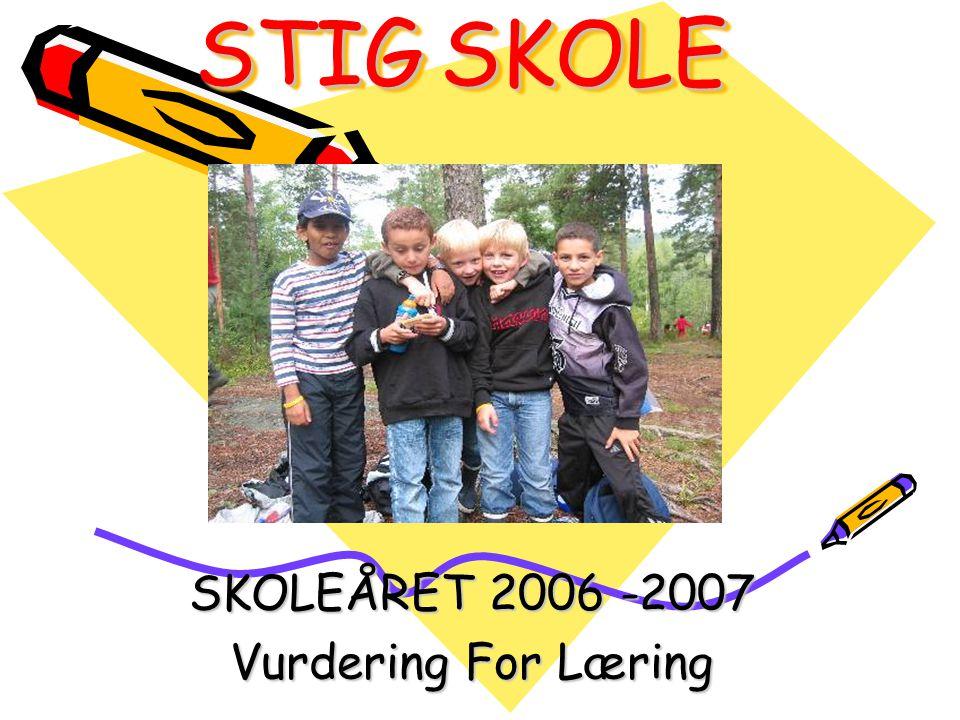SKOLEÅRET 2006 -2007 Vurdering For Læring