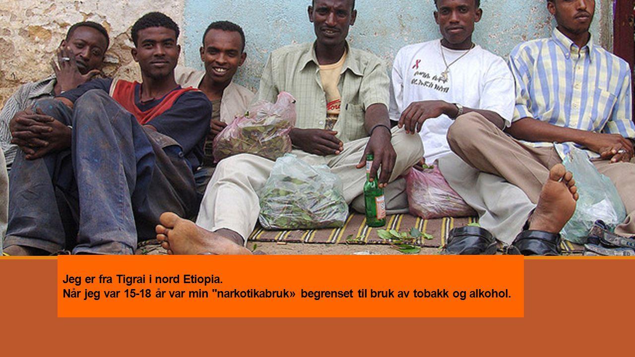 Jeg er fra Tigrai i nord Etiopia