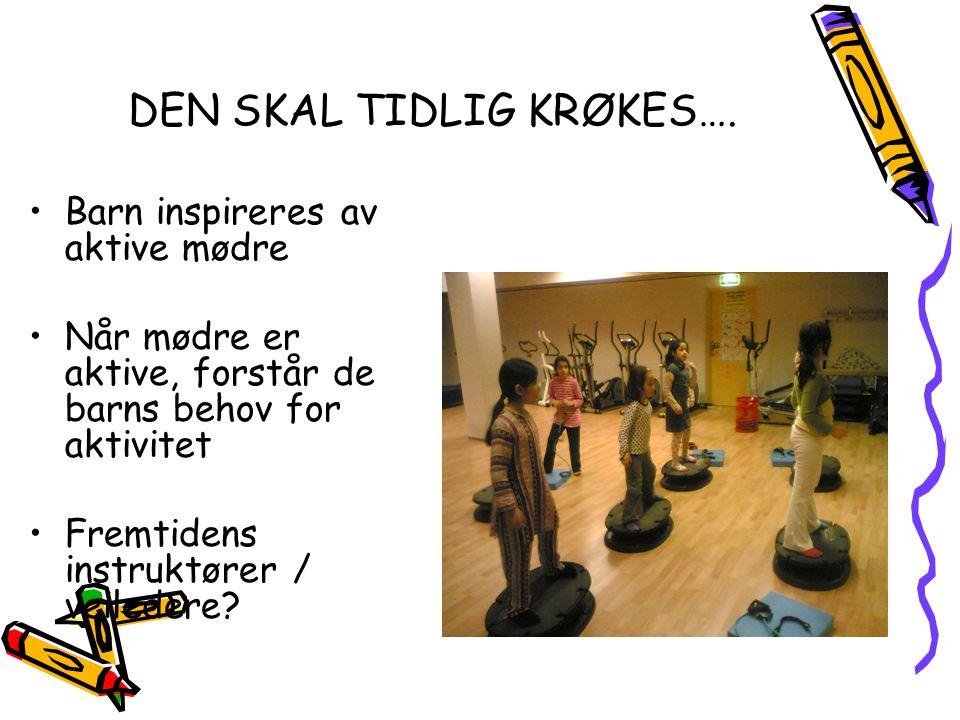 DEN SKAL TIDLIG KRØKES….