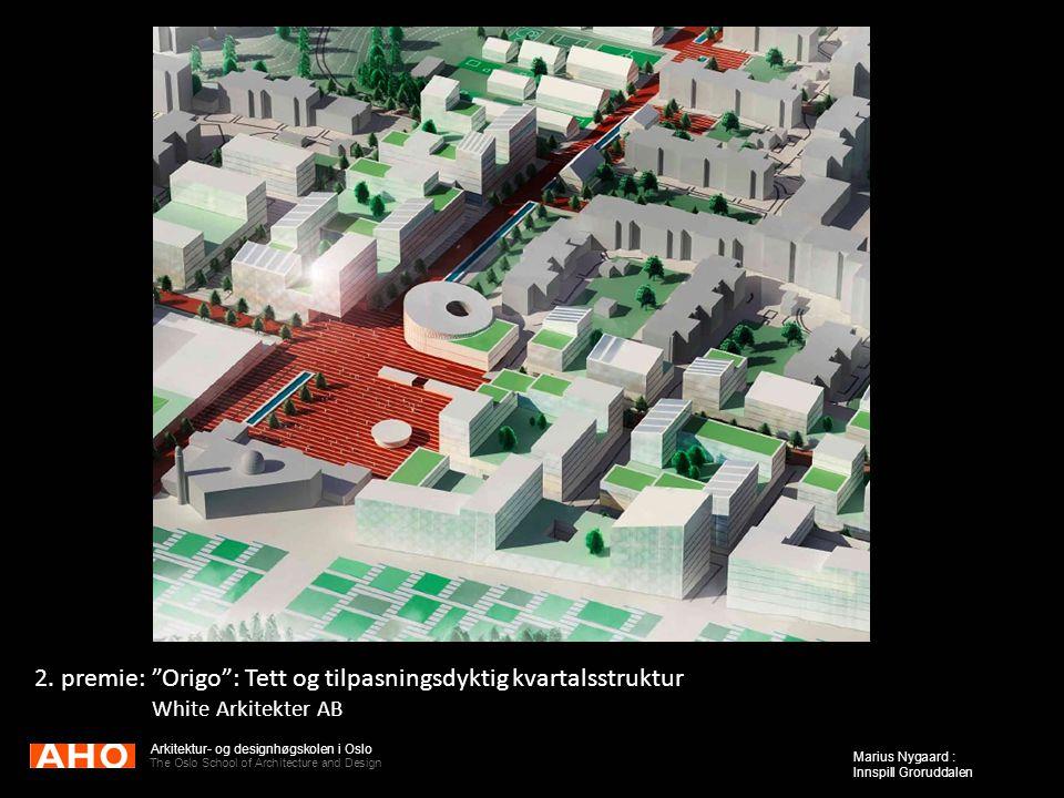 2. premie: Origo : Tett og tilpasningsdyktig kvartalsstruktur