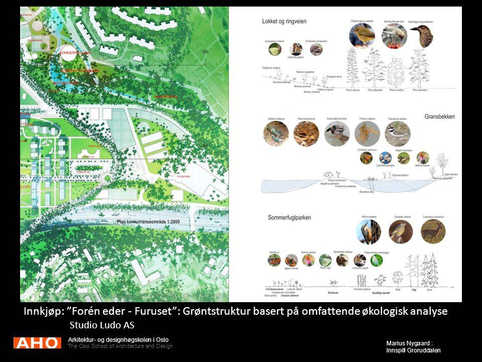 Innkjøp: Forén eder - Furuset : Grøntstruktur basert på omfattende økologisk analyse