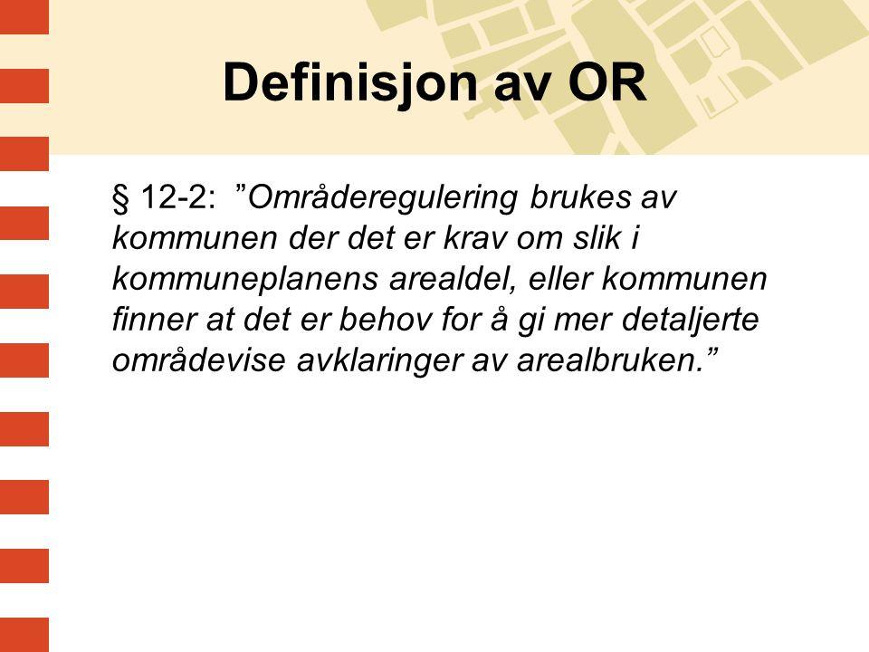 Definisjon av OR
