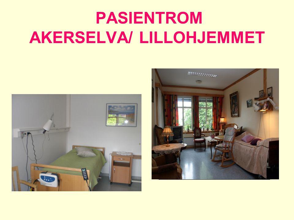 PASIENTROM AKERSELVA/ LILLOHJEMMET