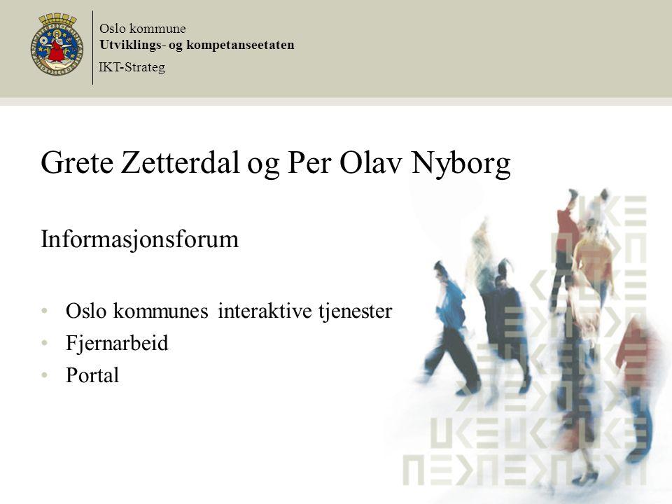 Grete Zetterdal og Per Olav Nyborg