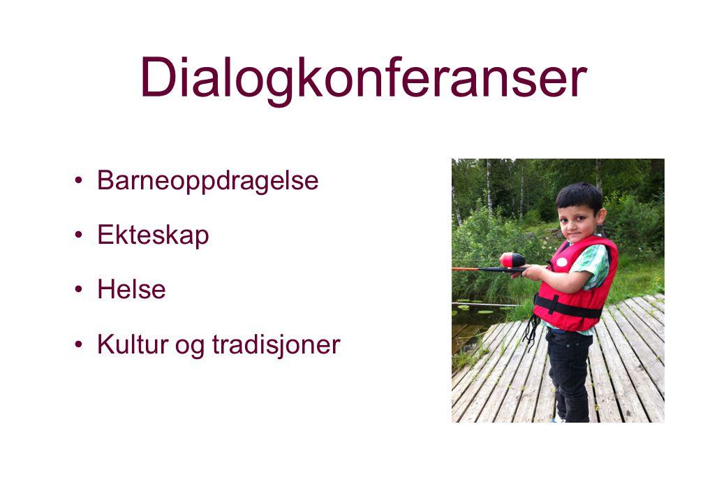 Dialogkonferanser Barneoppdragelse Ekteskap Helse