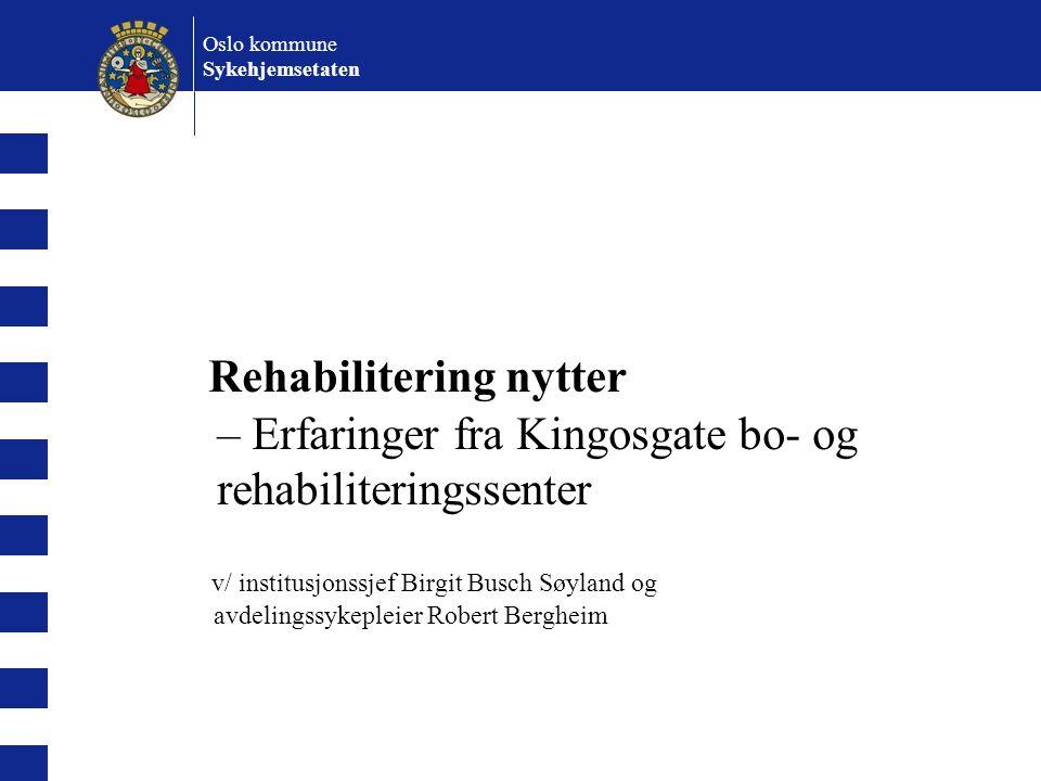 Oslo kommune Sykehjemsetaten.