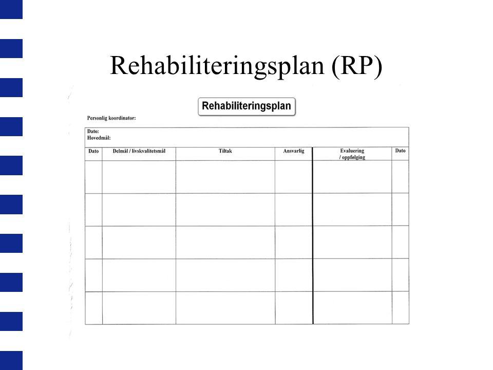 Rehabiliteringsplan (RP)