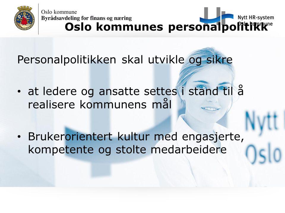 Oslo kommunes personalpolitikk