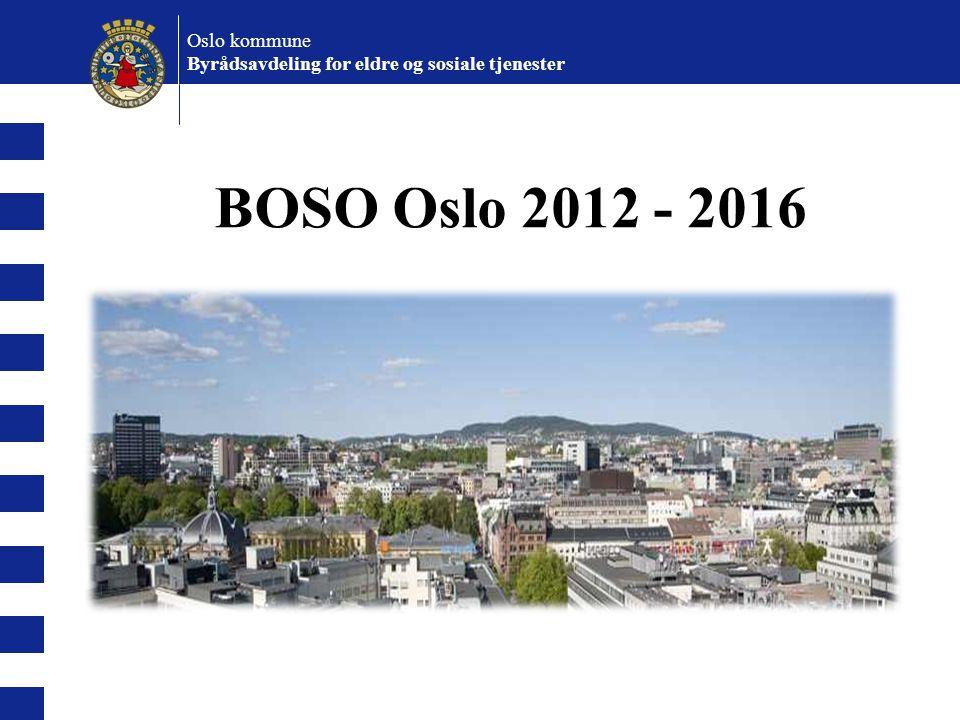 BOSO Oslo 2012 - 2016 Oslo kommune