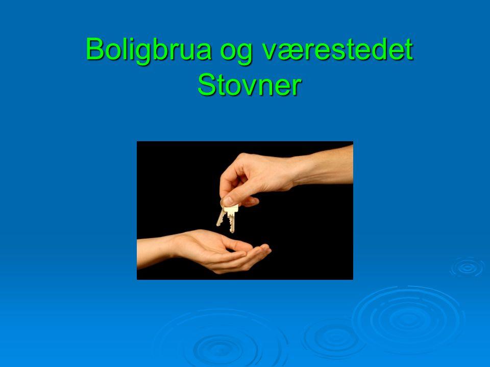 Boligbrua og værestedet Stovner