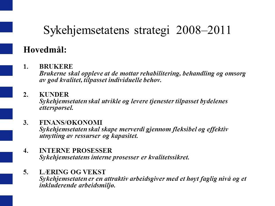 Sykehjemsetatens strategi 2008–2011