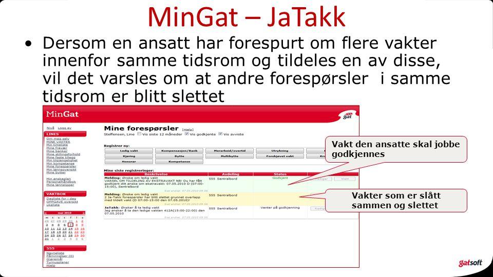 MinGat – JaTakk